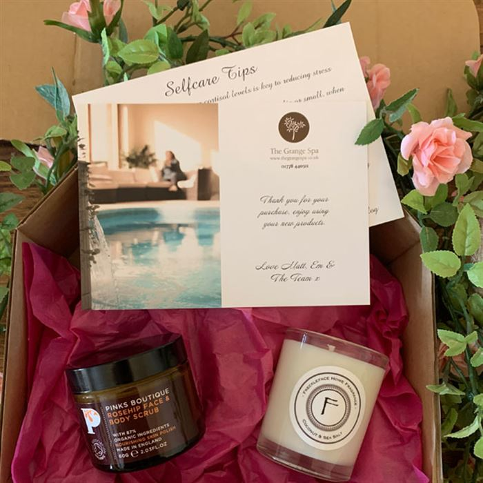 Mother's Day Rosehip Scrub gift Box